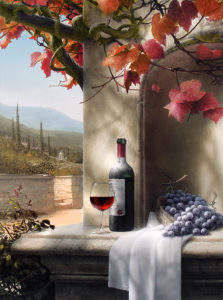 Вино и виноград.