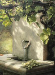 Источник в саду