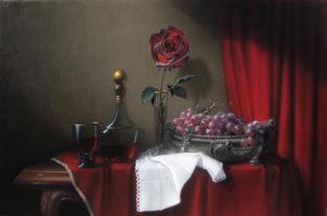 Роза, вино и виноград