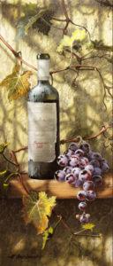 Старое вино Chateau Bernadotte