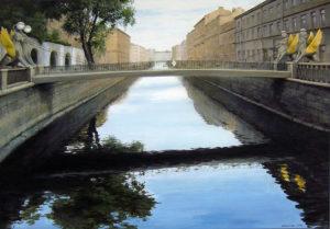 Банковский мост. Питер