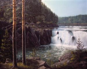 Сибирский водопад