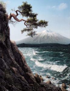 Кунашир, вулкан Тятя