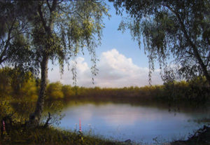 Загадочное озеро Ленёво