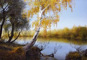 Осенняя березка