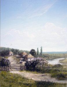 Украинское село. копия