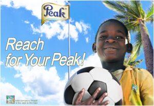 Рекламный плакат Peak