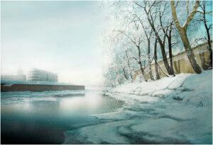 Начало зимы на Омке