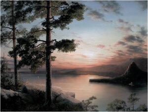 Закат в Боровом