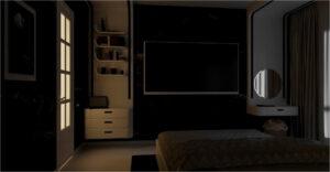 Спальня ночь