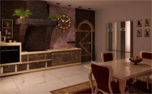 Кухня-лофт