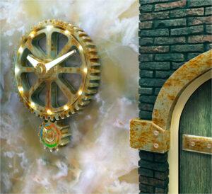 Часы для лофта